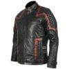 101 Vintage Distressed Motor Biker Real Leather Jacket 2