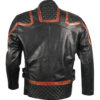 101 Vintage Distressed Motor Biker Real Leather Jacket 3
