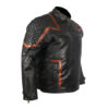 101 Vintage Distressed Motor Biker Real Leather Jacket 4