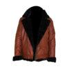 Aviator B3 Warm, Fur Lined Bomber Sheepskin Leather Jacket 1