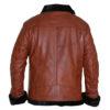 Aviator B3 Warm, Fur Lined Bomber Sheepskin Leather Jacket 2