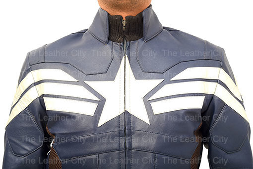 Racing Chris Evan's Captain America: Winter Soldier Leather