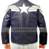 Captain America The Winter Soldier Jacket Back