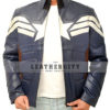 Captain America The Winter Soldier Jacket Front Open