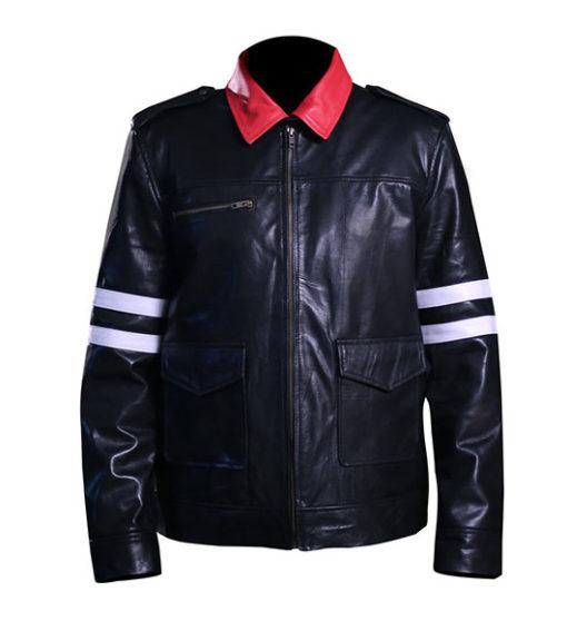 Alex Mercer Prototype Leather Jacket For Men 1