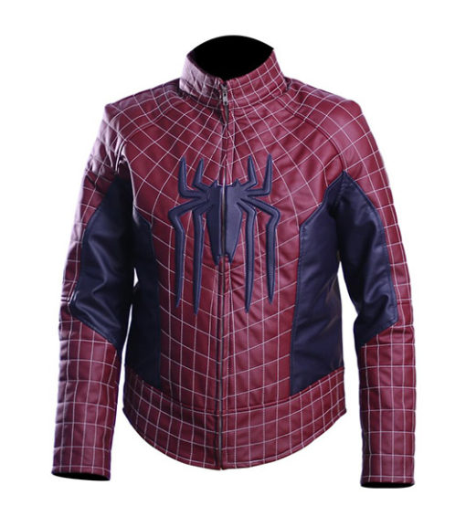All New Spider Man Real Leather Jacket 1