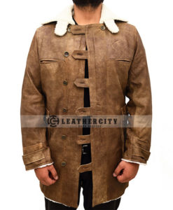 bane leather coat