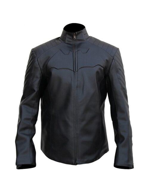 Batman Begins Leather Jacket