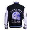 Beverly Hill Cop Detroit Lions Letterman Real Wool Jacket 2