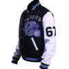 Beverly Hill Cop Detroit Lions Letterman Real Wool Jacket 3