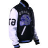 Beverly Hill Cop Detroit Lions Letterman Real Wool Jacket 4