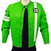 Men's Ben 10 Slim Fit Leather Jacket f