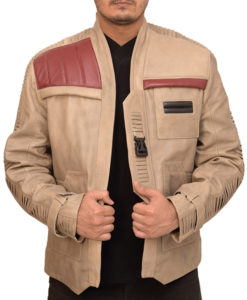 poe dameron finn leather jacket