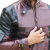 Deadpool Leather Jacket Worn by Ryan Reynolds 10