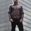 Deadpool Leather Jacket Worn by Ryan Reynolds 11
