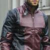 Deadpool Leather Jacket Worn by Ryan Reynolds 14
