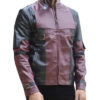 Deadpool Leather Jacket Worn by Ryan Reynolds 4