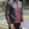 Deadpool Leather Jacket Worn by Ryan Reynolds 7
