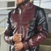 Deadpool Leather Jacket Worn by Ryan Reynolds 8