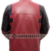 Deadpool Leather Jacket Worn by Ryan Reynolds Back