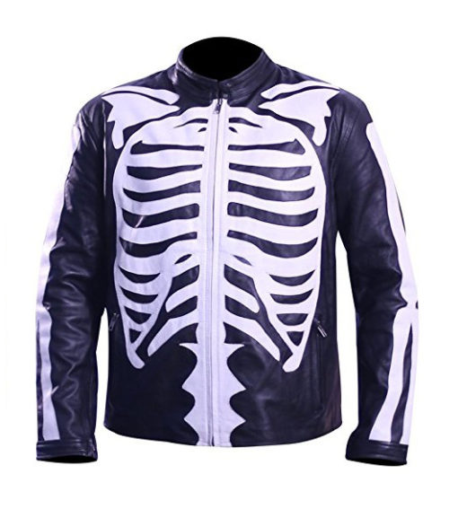 Halloween Skeleton Jacket-front