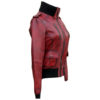 Ladies Cosmopolitan Fitted Fashion Genuine Leather Women Jacket right