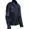 Men's Leon Kennedy Leather Jacket – Resident Evil 6 4