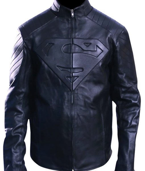 Men's Superman Smallville Jacket Black 1