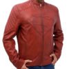 Men's Tom Welling Superman Smallville Jacket S left