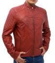 Men's Tom Welling Superman Smallville Jacket S left