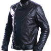 Men's david beckham real leather jacket 1