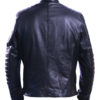 Men's david beckham real leather jacket 2