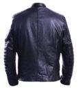 Men's david beckham real leather jacket 2