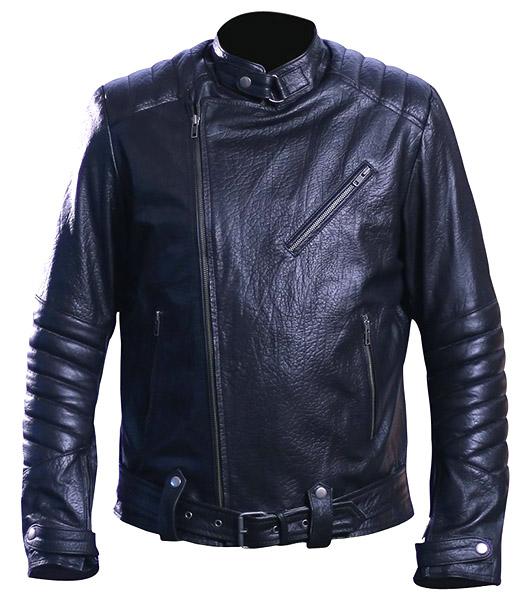 Men's david beckham real leather jacket 3