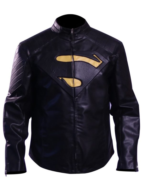 Smallville Superman Jacket ( black superman 'S') 1