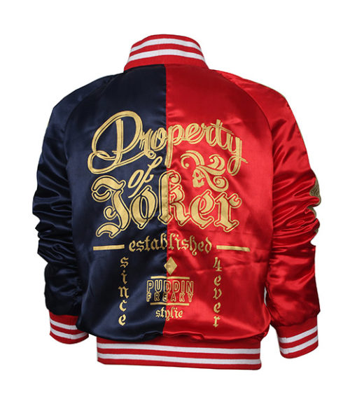 Suicide Squad Harley Quinn Daddy's Lil princess Jacket 1