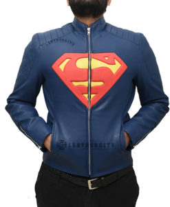 Superman Leather Jacket