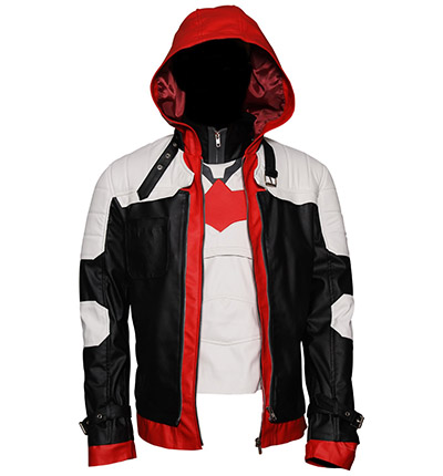 The Batman Arkham Knight Jason Todd Cosplay Jacket 1