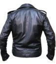 The Walking Dead Negan Jeffrey Dean Morgan Leather Jacket back