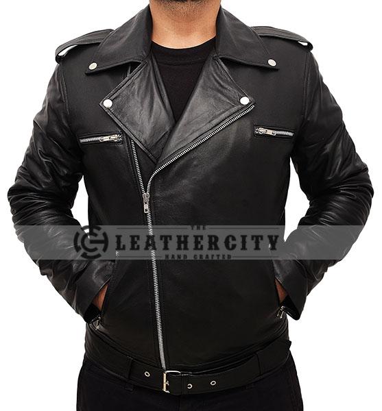 83afd722b The Walking Dead's Negan Leather Jacket