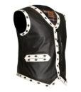 The Warrior Vest Leather Jacket 1