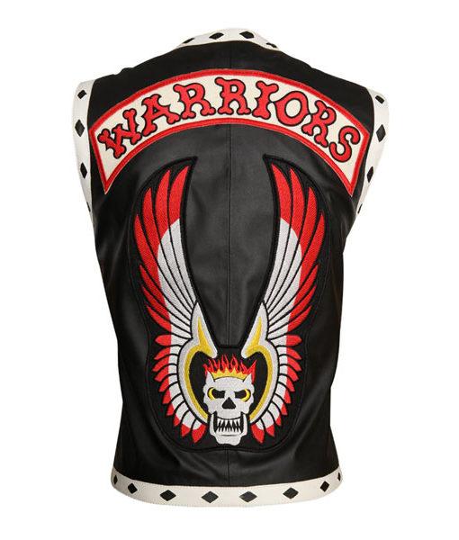 The Warrior Vest Leather Jacket 2