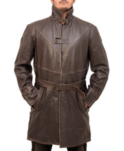 watch dogs aiden pearce coat in real leather