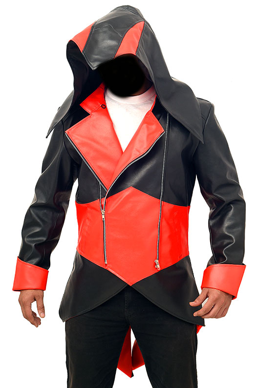 Connor Kenway Assassin S Creed 3 Red Black Jacket Tlc