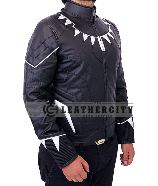 Black Panther Jacket - right side