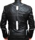 Black Panther LEather Jacket back