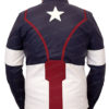 Chris Evan's Avengers Age of Ultron Captain America Jacket BAck