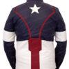 Chris Evan's Avengers Age of Ultron Captain America Jacket BAck
