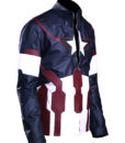 Men's Avengers America Leather Jacket right