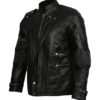 Men's Chris Pratt Star Lord Guardians of The Galaxy Vol 2 Real Leather Jacket left